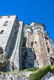 Η πρόσοψη των ιερών οστών Di SAN Michele, Τορίνο Στοκ εικόνα με δικαίωμα ελεύθερης χρήσης