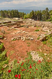 Η πρόσφατα χτισμένη archeological περιοχή του ST Clements Churchn γύρω από την πρόσφατα χτισμένη εκκλησία του ST Clements Στοκ εικόνα με δικαίωμα ελεύθερης χρήσης