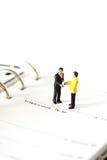 Η πρότυπη επιχείρηση λογαριάζει το ημερολόγιο Α Στοκ φωτογραφίες με δικαίωμα ελεύθερης χρήσης