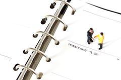 Η πρότυπη επιχείρηση λογαριάζει το ημερολόγιο Δ Στοκ εικόνες με δικαίωμα ελεύθερης χρήσης