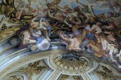 Η πτώση των αγγέλων Rebelious Στοκ φωτογραφία με δικαίωμα ελεύθερης χρήσης