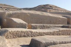 Η πυραμίδα σε Cahuachi, Περού στοκ φωτογραφίες με δικαίωμα ελεύθερης χρήσης