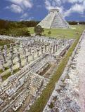 η πυραμίδα του Μεξικού itza Στοκ Εικόνα