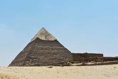 Η πυραμίδα Giza, Κάιρο, Αίγυπτος στοκ φωτογραφίες