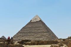 Η πυραμίδα Giza, Κάιρο, Αίγυπτος στοκ φωτογραφία