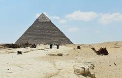 Η πυραμίδα Giza, Κάιρο, Αίγυπτος στοκ εικόνες