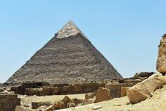 Η πυραμίδα Giza, Κάιρο, Αίγυπτος στοκ εικόνα με δικαίωμα ελεύθερης χρήσης