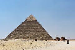 Η πυραμίδα Giza, Κάιρο, Αίγυπτος στοκ φωτογραφίες με δικαίωμα ελεύθερης χρήσης