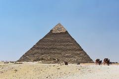Η πυραμίδα Giza, Κάιρο, Αίγυπτος στοκ εικόνες με δικαίωμα ελεύθερης χρήσης
