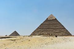 Η πυραμίδα Giza, Κάιρο, Αίγυπτος στοκ εικόνα