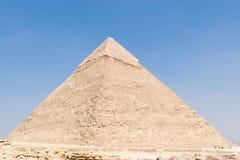Η πυραμίδα Khafre ή Chephren στοκ φωτογραφία με δικαίωμα ελεύθερης χρήσης