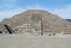 Η πυραμίδα φεγγαριών σε Teotihuacan EN Μεξικό Στοκ εικόνα με δικαίωμα ελεύθερης χρήσης