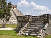 Η πυραμίδα Kukulkan. Στοκ φωτογραφία με δικαίωμα ελεύθερης χρήσης