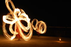 η πυρκαγιά εμφανίζει Στοκ Εικόνες
