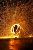 Η πυρκαγιά εμφανίζει Στοκ Εικόνα
