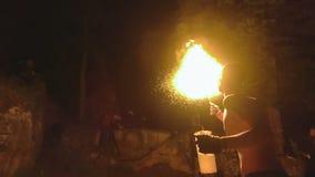 Η πυρκαγιά εμφανίζει απόθεμα βίντεο