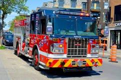 η πυρκαγιά μηχανών firetruck παλαιά εμφανίζει Στοκ Εικόνες