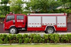η πυρκαγιά μηχανών firetruck παλαιά εμφανίζει Στοκ εικόνα με δικαίωμα ελεύθερης χρήσης