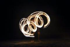 Η πυρκαγιά παρουσιάζει σε Nadi, Φίτζι Στοκ Φωτογραφίες
