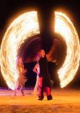 Η πυρκαγιά παρουσιάζει Στοκ εικόνα με δικαίωμα ελεύθερης χρήσης