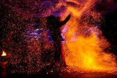 Η πυρκαγιά παρουσιάζει Στοκ Εικόνα