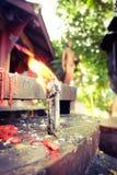 Η πυρκαγιά προσεύχεται Στοκ εικόνες με δικαίωμα ελεύθερης χρήσης