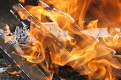 Η πυρκαγιά Στοκ εικόνες με δικαίωμα ελεύθερης χρήσης