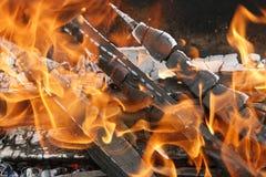 Η πυρκαγιά Στοκ Εικόνες