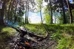 Η πυρκαγιά Στοκ φωτογραφίες με δικαίωμα ελεύθερης χρήσης