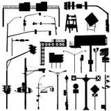 η πόλη αντιτίθεται διάνυσμ&alp απεικόνιση αποθεμάτων