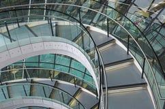 η πόλη ενθαρρύνει την αίθουσα Λονδίνο το νορμανδικό s Στοκ Εικόνες