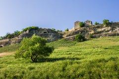 Η πόλη σπηλιών του chufut-Kale, Κριμαία, περιοχή Bakhchsarai στοκ εικόνες με δικαίωμα ελεύθερης χρήσης