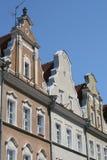 η πόλη στεγάζει το παλαιό opole Πολωνία Στοκ φωτογραφία με δικαίωμα ελεύθερης χρήσης