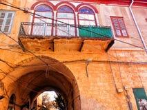 Η πόλη της Ναζαρέτ που βρίσκεται στη λοφώδη περιοχή Galilee σε Nort Στοκ φωτογραφία με δικαίωμα ελεύθερης χρήσης