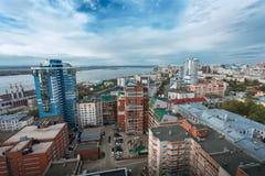 Η πόλη της Samara στοκ φωτογραφία με δικαίωμα ελεύθερης χρήσης