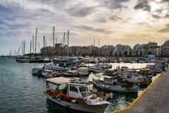 Η πόλη του Πειραιά Στοκ φωτογραφία με δικαίωμα ελεύθερης χρήσης