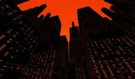 Η πόλη απεικόνιση αποθεμάτων
