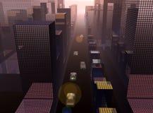 Η πόλη 21 διανυσματική απεικόνιση