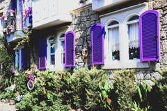 Η πόλη Alacati είναι ένας δημοφιλής προορισμός στο Ιζμίρ, Τουρκία στοκ φωτογραφία με δικαίωμα ελεύθερης χρήσης