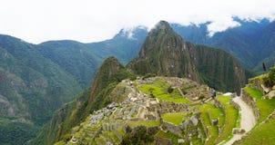 Η πόλη Machu Picchu, Περού στοκ φωτογραφία