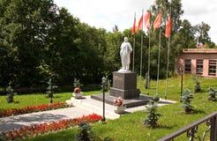 Η πόλη Myshkin Το μνημείο V Ι Λένιν στοκ εικόνες με δικαίωμα ελεύθερης χρήσης