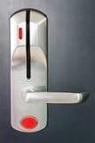 η πόρτα κλείδωσε το κόκκι&n Στοκ φωτογραφία με δικαίωμα ελεύθερης χρήσης