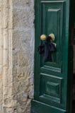 Η πόρτα πένθους Στοκ Φωτογραφίες