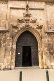 Η πόρτα στην εκκλησία Catherine της Αλεξάνδρειας και του ST Margare Στοκ εικόνες με δικαίωμα ελεύθερης χρήσης