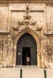 Η πόρτα στην εκκλησία Catherine της Αλεξάνδρειας και του ST Margare Στοκ Εικόνες