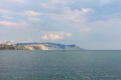 Η πόλη Μαύρης Θάλασσας του Νοβορωσίσκ Στοκ εικόνες με δικαίωμα ελεύθερης χρήσης