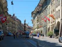 Η πόλη της Βέρνης, Ελβετία Στοκ εικόνες με δικαίωμα ελεύθερης χρήσης