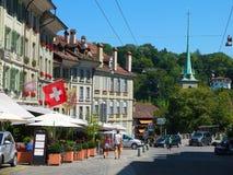 Η πόλη της Βέρνης, Ελβετία Στοκ φωτογραφία με δικαίωμα ελεύθερης χρήσης