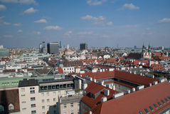 Η πόλη της Βιέννης, Αυστρία Στοκ εικόνες με δικαίωμα ελεύθερης χρήσης