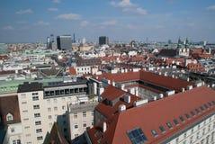 Η πόλη της Βιέννης, Αυστρία Στοκ Φωτογραφίες